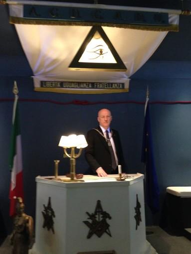 """La Massoneria apre le porte in Liguria, il Gran Maestro: """"Palestra di educazione civica"""""""