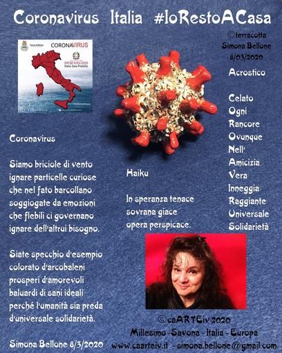 Coronavirus, l'associazione Caarteiv di Millesimo aderisce all'iniziativa #IoRestoACasa