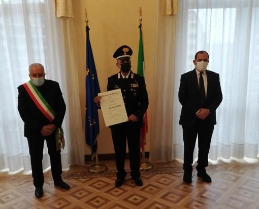 """Il maresciallo dei carabinieri Pier Paolo Caria nominato Cavaliere dell'Ordine """"Al Merito della Repubblica Italiana"""""""
