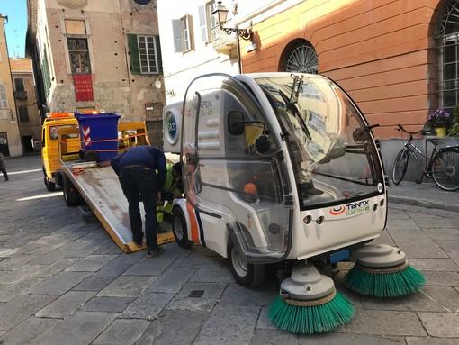 Albenga, da lunedì al via l'era SAT: il servizio di raccolta rifiuti non subirà alcuna modifica