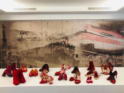 Gruppo FS Italiane: scarpe rosse in ufficio per la giornata contro la violenza sulle donne