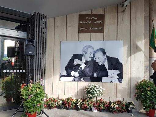 Intitolazione dell'ex Palazzo di Giustizia di Albenga ai magistrati Giovanni Falcone e Paolo Borsellino
