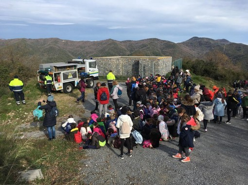Passeggiata tra gli ulivi per i bambini della Scuola Primaria di Andora