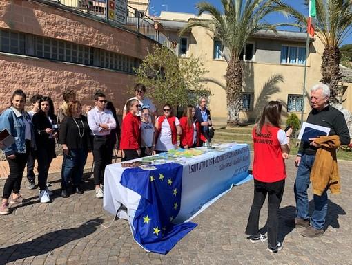 Borgio Verezzi, indagine sul senso di appartenenza all'Europa ai partecipanti delle Giornate FAI