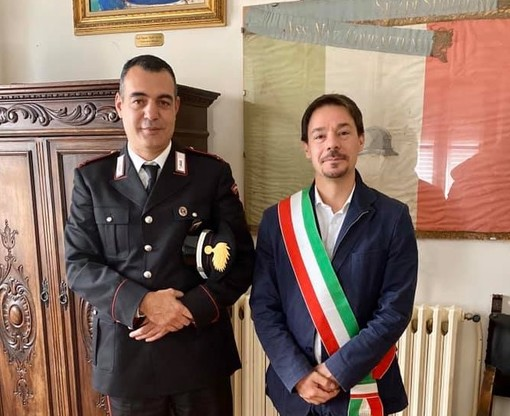 Benvenuto al nuovo comandante dei Carabinieri di Spotorno