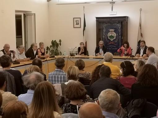Italia Viva a Pietra Ligure: sala consiliare gremita per Roberto Giachetti, Luciano Nobili e Raffaella Paita (FOTO e VIDEO)