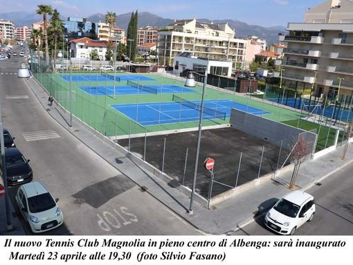 Albenga: un nuovo tennis nel cuore della città per promuovere lo sport e i suoi valori