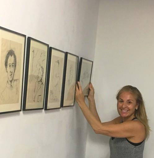 Inaugurata a New York la mostra sull'artista italiana Nenne Sanguineti Poggi