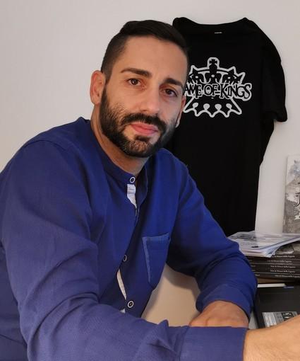"""Dopo la sceneggiatura della serie """"Game of kings"""" , due titoli in libreria per l'autore ligure Dario Rigliaco"""