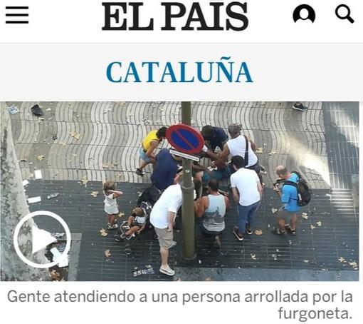 Attentato a Barcellona: le testimonianze di due giovani di Albenga e Andora
