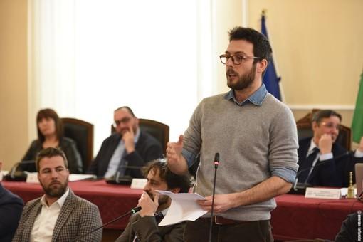 Foto: Jan Casella in consiglio comunale