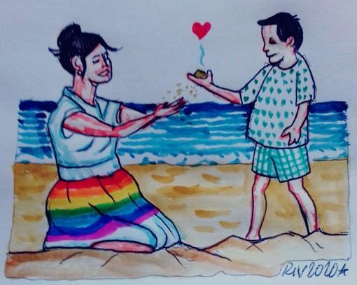 """#FavoleaCasa di oggi propone """"La sabbia"""", la favola psicologica sull'unica via per custodire l'amore, letta e commentata da Fata Zucchina"""