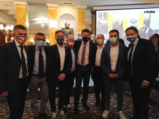 Dopo le regionali: Salvini incontra a Roma gli eletti della Lega in Liguria