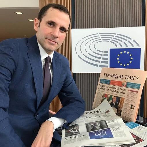 """Leonardo Panetta (Mediaset) ad Andora per presentare il suo libro """"Recovery Italia"""""""