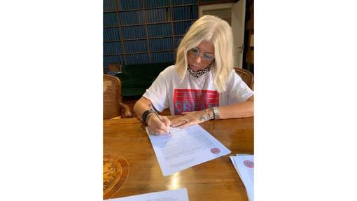 """Regionali, Lorenza Giudice si candida con Toti: """"Mi impegno per la soluzione dei problemi"""""""