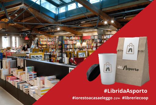 """""""Libri da asporto"""": l'iniziativa di Librerie.coop attiva in 16 punti vendita in Italia"""