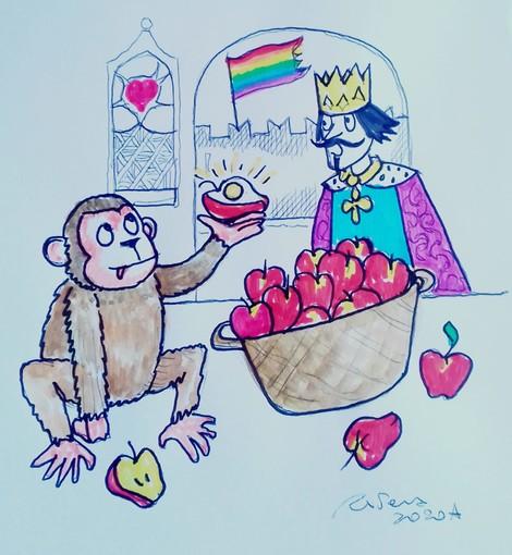 """#FavoleaCasa di oggi propone """"Le mele"""", la favola sulla capacità di riconoscere e gioire delle piccole cose, letta e commentata da Fata Zucchina"""