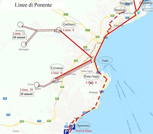 Nuova mobilità per la città di Savona: la proposta del vicesindaco Arecco sulle linee Tpl di Ponente