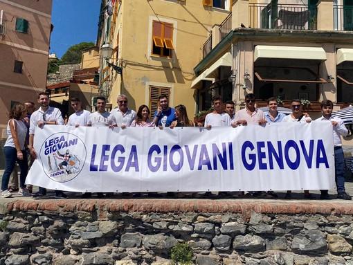 """Regionali, gazebata della Lega in Liguria: """"Stop invasione e stop isolamento"""""""
