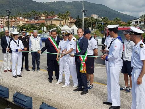 La guardia costiera inaugura un nuovo gommone ad Andora e una sede distaccata a Laigueglia (FOTO e VIDEO)