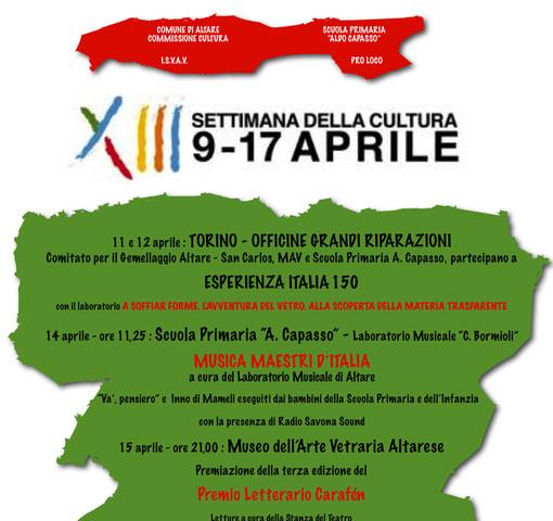 Settimana della Cultura d'Arte Vetraria Altarese
