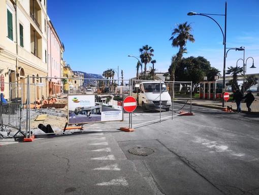 """Lavori in corso a Pietra Ligure, il sindaco De Vincenzi: """"Segnali precisi sulle intenzioni dell'amministrazione"""" (FOTO e VIDEO)"""