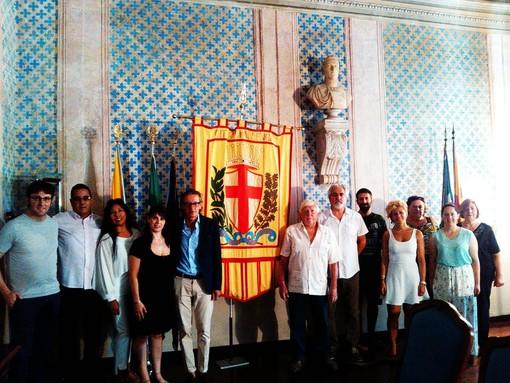 Il cubano Marcelino Guerra Rosabal in visita diplomatica ad Albenga e Arnasco (FOTO e VIDEO)
