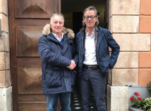 Albenga: l'avvocato Mauro Vannucci si candida in squadra con Tomatis