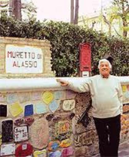 Mario Berrino, storico pittore alassino, ricordato dagli amici di Ispra, sul Lago Maggiore