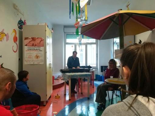 Savona, musica e teatro per i piccoli della Pediatria dell'ospedale San Paolo