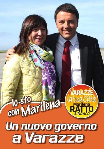 """L'appoggio di Matteo Renzi per la candidatura di Marilena Ratto a Varazze: """"coraggio e rinnovamento"""", stasera la presentazione della lista"""