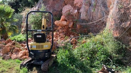 Pietra, cominciati i lavori di messa in sicurezza al Parco Offenburg