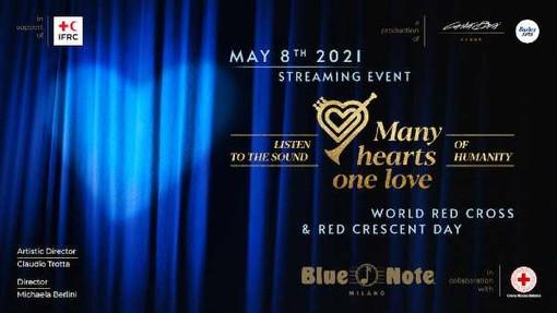 Sabato 8 maggio 'Many Hearts, One Love': il grande show musicale in streaming per la Giornata Mondiale della Croce Rossa e Mezzaluna Rossa