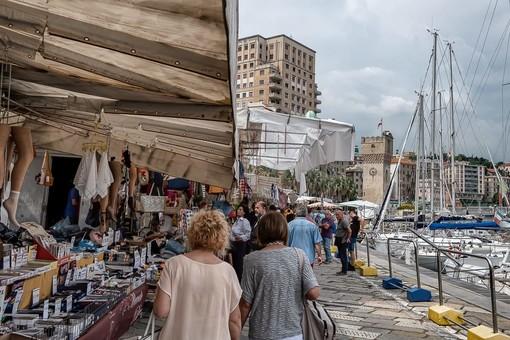 Allerta gialla in provincia di Savona: rinviato il Mercato Riviera delle Palme