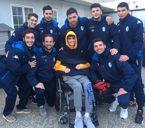 La Nazionale TV sbarca a Pietra Ligure a sostegno di Marco Centino