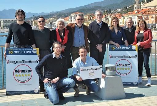 Pietra Ligure, elezioni 2019: presentata ufficialmente la lista del M5S