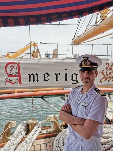 """L'Albenganese Marco Berruti nuovo Direttore di Macchina della """"Vespucci"""", la """"nave più bella del mondo"""""""