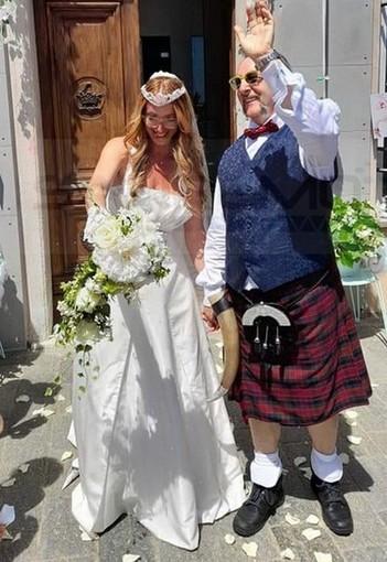 Marilisa Di Federico e Giorgio Bondi sposi: doppia cerimonia a Vado e Sanremo (FOTO)