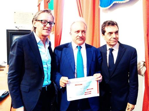 """Il sottosegretario ai trasporti Margiotta: """"Lo spostamento a monte della ferrovia sarà realtà"""". Presentato ad Albenga un progetto da 1,5 milioni di euro"""