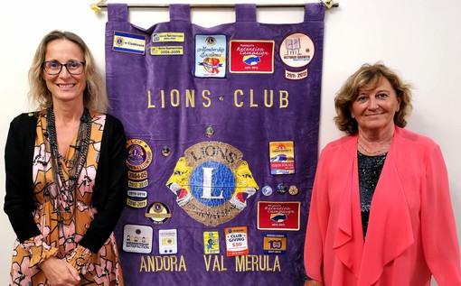 """Maria Teresa Nasi nuovo presidente del Lions Club """"Andora Valle del Merula"""""""