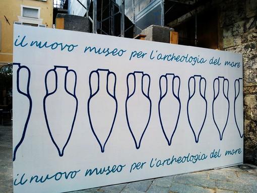 """Prende sempre più forma il futuro """"Museo dell'Archeologia del Mare"""" di Albenga (FOTO e VIDEO)"""