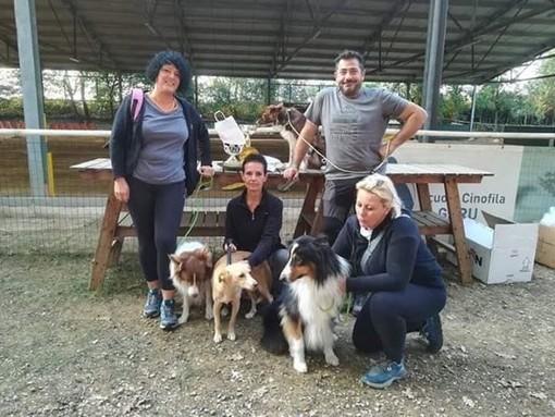"""Il Team """"Mondo Cane"""" di Valleggia fa incetta di posti sul podio a Torino"""