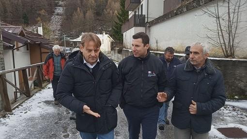 """Sp 100 di Monesi: Giampedrone: """"In primavera inauguriamo strada e ponte""""."""