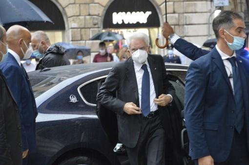 Inaugurazione ponte San Giorgio, il Presidente Sergio Mattarella a Genova: prima l'incontro con i parenti delle vittime, poi la cerimonia (FOTO)