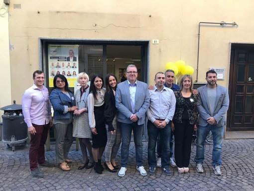 Comunali Carcare, il candidato sindaco del M5S Alessandro Risso incontra la frazione di Vispa