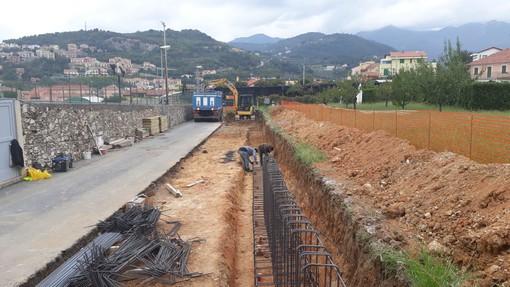 Pietra Ligure, via Maglio: iniziati i lavori di allargamento della strada