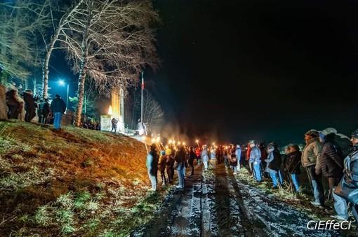 """Calizzano ricorda i propri caduti in Russia: commemorata la """"Notte di Valujki"""" (FOTO)"""