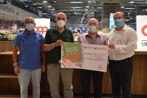 Dai Soci di Coop Liguria 9.000 pasti alle associazioni del territorio: 1.800 nel savonese