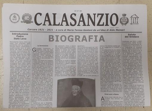 """""""Calasanzio"""", l'originale notiziario che descrive la storia del Liceo carcarese"""