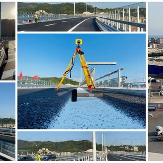 """Un """"giro"""" sul nuovo ponte San Giorgio a Genova: lunedì l'inaugurazione (FOTO e VIDEO)"""